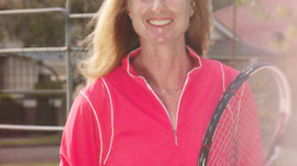 Girls Tennis Coach Alison Scott