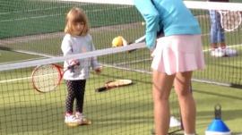 Teaching Girls Tennis