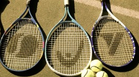 Girls Tennis rackets & balls