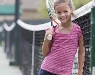 small gilr tennis