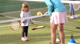 Teaching Girls Tennis