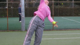 Girls Tennis -Alison - Why play tennis